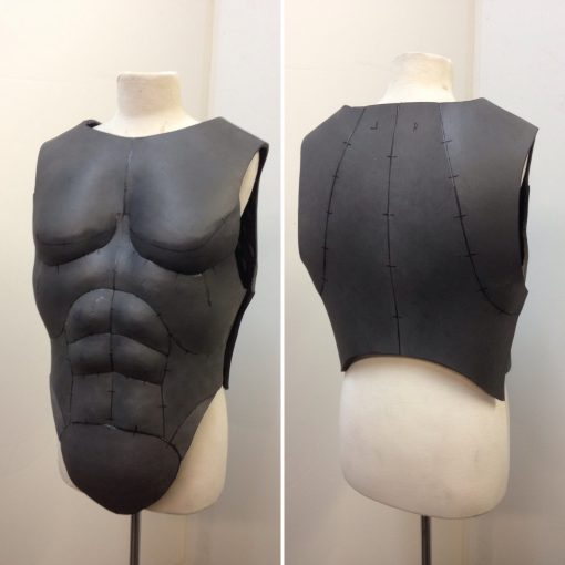 Vamp chest and back