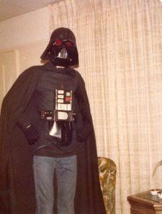 Evil Ted Smith Darth Vader's helmet
