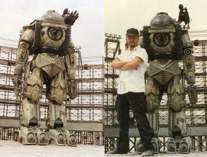 Evil Ted Smith Robo Warriors 1997