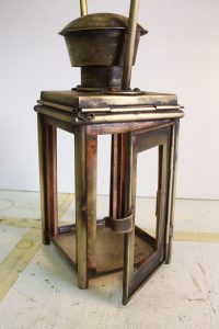 Evil Ted Smith Brass lantern for Pirates of the Caribbean 3