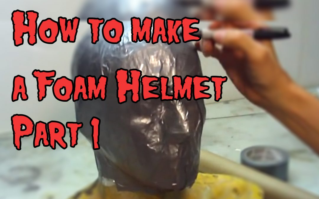 How To Make a Foam Helmet, Tutorial Part 1