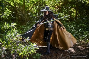 Evil Ted Smith Vampire Hunter D Cosplay