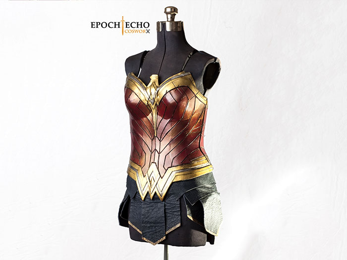 Wonder Woman Corset Skirt Bundle The Evil Ted Channel Unique Wonder Woman Skirt Pattern