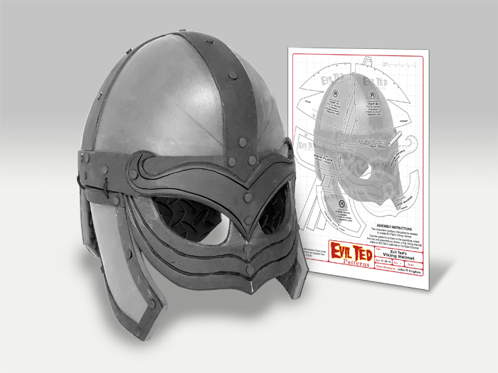 Viking Helmet Pattern - The Evil Ted Channel