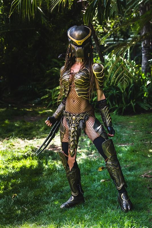 Machiko Noguchi AKA Alicia Marie the female human Predator